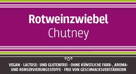 Rotweinzwiebel - Chutney, 140g