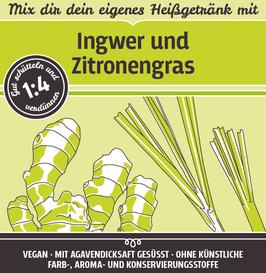 mit Ingwer und Zitronengras