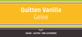 Quitten - Vanillegelee, 150g