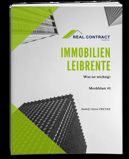 IMMOBILIEN-LEIBRENTE / MERKBLATT