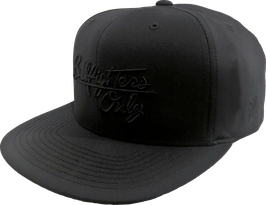SFO Signature Black-on-Black Cap