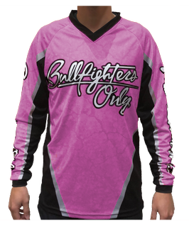 Youth Pink Bullfighters Only Jersey