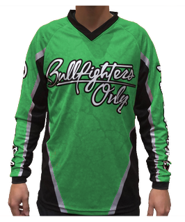 Youth Green Bullfighters Only Jersey