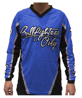 Youth Blue Bullfighters Only Jersey