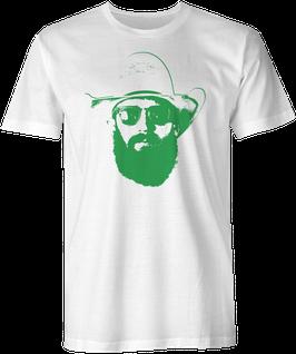Weston Rutkowski Fear The Beard T-Shirt - White