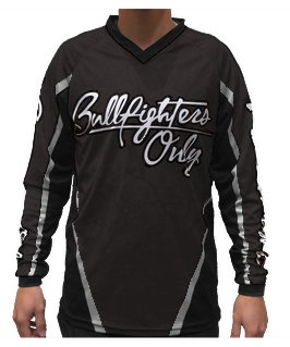 Youth Black Bullfighters Only Jersey