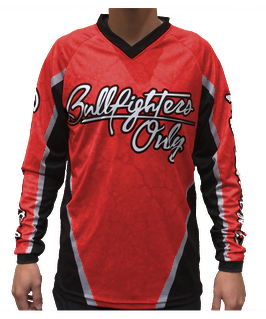 Red Bullfighters Only Jersey