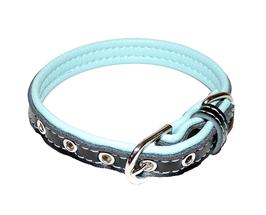 Halsband hellblau