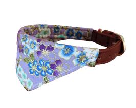 Halsband Tuch lila