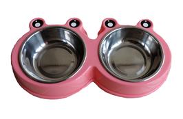 Hundenapf doppelt rosa