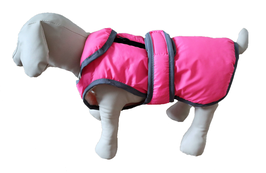 "Hundemantel ""Pink Snow"""