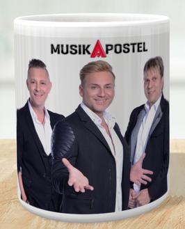 MusikApostel Tasse mit Bilddruck Art.1
