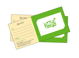 LITTLE TOKYO Gift Card from $50.00