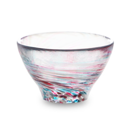 *GLASS SAKE CUP: SPRING HAZE