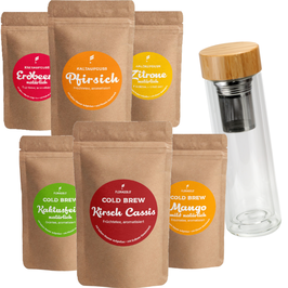 Cold Brew Komplett-Set mit To Go Bottle