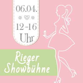 12. SatC Ladysflohmarkt in Gera | Möbelhaus Rieger - Showbühne | 12 - 16 Uhr | 06.04.2019|