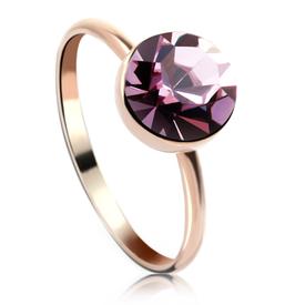 MONJA - Fingerring mit Kristall