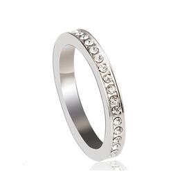 VERA - Fingerring mit Kristallen