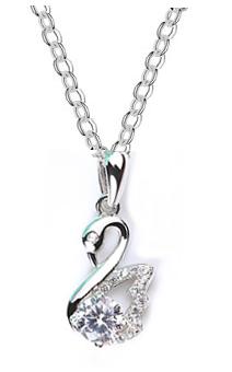 ***SVANA - Halskette mit Schwananhänger