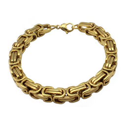 WILMER - Königsketten Armband GOLD