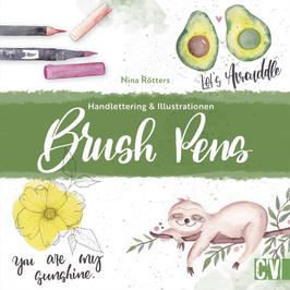 Brush Pens: Handlettering & Illustrationen von Nina Rötters