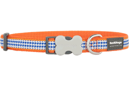 Red Dingo Dog/Puppy Collar Fang It Orange