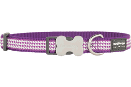 Red Dingo Dog/Puppy Collar Fang It Purple