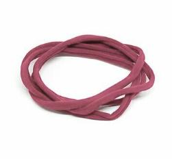 fascette elastiche per capelli - conf. 4 pz col. 09 rosa