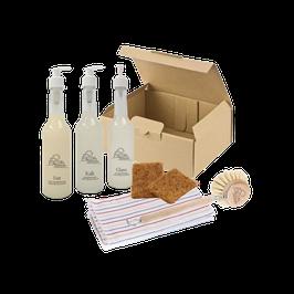 Starter Kit: Plasticfree Household [Reiniger + Zubehör]