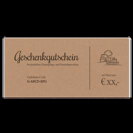 xx € Gutschein