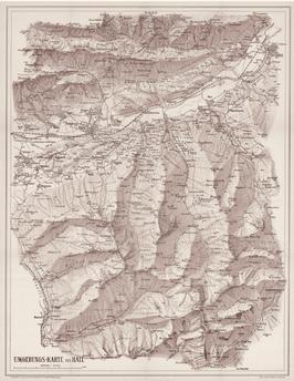 TuXer Alpen Karte, Blatt
