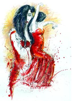 """""""Flamenco Danza"""" - Motiv 2"""