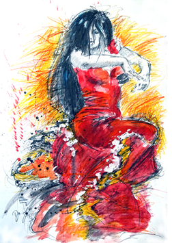 """""""Flamenco Danza"""" - Motiv 1"""