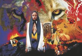 """""""AFRIKA ONE """" - Motiv 1 aus der Serie vo HENRYO"""
