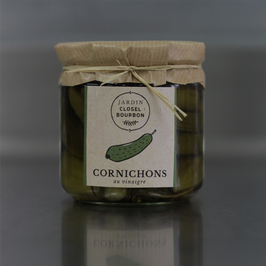 Cornichons au vinaigre, 410 gr