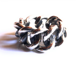 ROCK STAR CHAIN RING