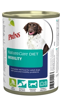 PRINS NATURECARE DIET DOG MOBILITY 6X400 GR