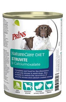 PRINS NATURECARE DIET DOG STRUVITE & CALCIUMOXALATE 6X400 GR