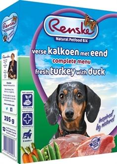 RENSKE VERS VLEES KALKOEN/EEND 395 GR