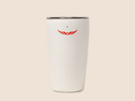 MIIR TRAVEL TUMBLER WHITE 12oz