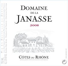 2019 Côtes du Rhône, Janasse
