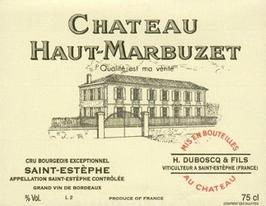 2013 Château Haut Marbuzet