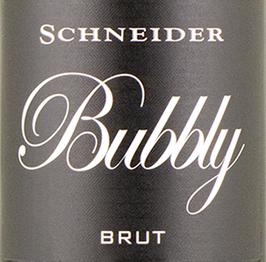 Bubbly Sekt brut, Schneider