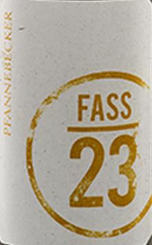 2017 Fass 23 QbA trocken BIO+vegan, Pfannebecker