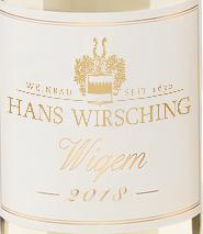 2018 Wiquem Auslesecuvee fruchtsüß, Wirsching 0,375 l Flasche