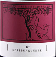 2016 Spätburgunder B QbA trocken, Becker