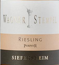 2016 Riesling vom Porphyr QbA trocken, Wagner-Stempel