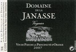 2019 Vin de Pays Orange IGP Viognier, Janasse