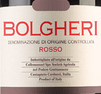 2019 Bolgheri rosso DOC, Grattamacco