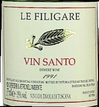 2006 Vin Santo DOC 0,375 l Flasche süss, Filigare